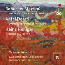 Bohuslav Martinu (1890-1959): Konzert für Oboe & kleines Orchester, Super Audio CD
