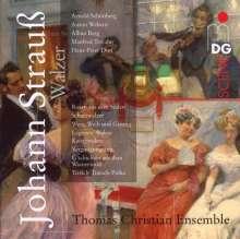 Johann Strauss II (1825-1899): Walzer-Transkriptionen, CD