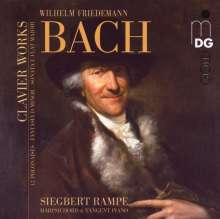 Wilhelm Friedemann Bach (1710-1784): Polonaisen für Cembalo F12 Nr.1-12, CD
