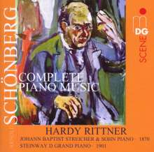 Arnold Schönberg (1874-1951): Klavierwerke, Super Audio CD