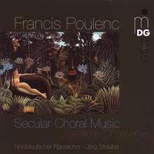Francis Poulenc (1899-1963): Weltliche Chorwerke, Super Audio CD