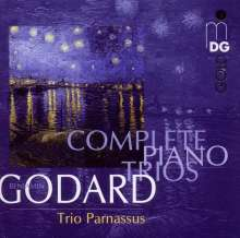 Benjamin Godard (1849-1895): Klaviertrios Nr.1 & 2, CD