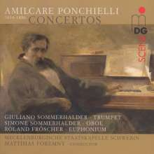 Amilcare Ponchielli (1834-1886): Konzerte, CD