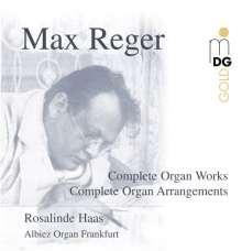 Max Reger (1873-1916): Sämtliche Orgelwerke, 14 CDs