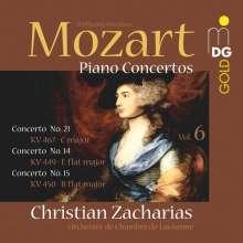 Wolfgang Amadeus Mozart (1756-1791): Klavierkonzerte Vol.6, SACD