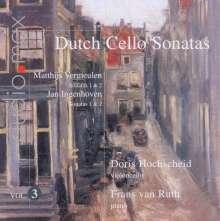Doris Hochscheid - Dutch Sonatas für Cello & Klavier Vol.3, SACD