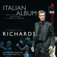Timothy Richards - Italian Album, Super Audio CD