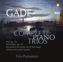 Niels W. Gade (1817-1890): Sämtliche Klaviertrios, CD