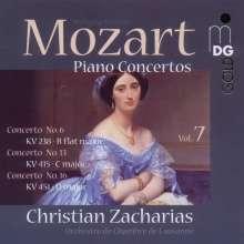 Wolfgang Amadeus Mozart (1756-1791): Klavierkonzerte Vol.7, Super Audio CD