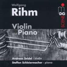 Wolfgang Rihm (geb. 1952): Werke für Violine & Klavier, CD