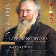 Johannes Brahms (1833-1897): Klavierwerke Vol.3 - Späte Klavierwerke, Super Audio CD