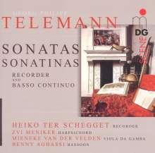 Georg Philipp Telemann (1681-1767): Sonaten & Sonatinen für Blockflöte & Bc, Super Audio CD