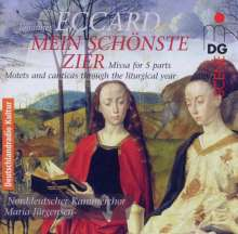 """Johannes Eccard (1553-1611): Chorwerke """"Mein schönste Zier"""", SACD"""