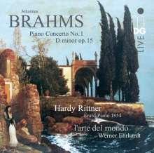 Johannes Brahms (1833-1897): Klavierkonzert Nr.1, Super Audio CD
