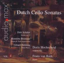 Doris Hochscheid - Dutch Sonatas für Cello & Klavier Vol.4, Super Audio CD