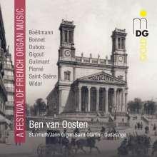 Ben van Oosten - A Festival of French Organ Music, CD