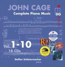 John Cage (1912-1992): Sämtliche Klavierwerke, 18 CDs