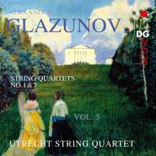 Alexander Glasunow (1865-1936): Streichquartette Vol.5, CD