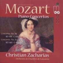 Wolfgang Amadeus Mozart (1756-1791): Klavierkonzerte Vol.8, Super Audio CD