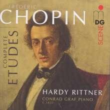 Frederic Chopin (1810-1849): Etüden Nr.1-27, Super Audio CD