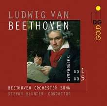 Ludwig van Beethoven (1770-1827): Symphonien Nr.1 & 5, Super Audio CD