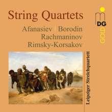 Leipziger Streichquartett, CD
