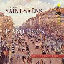 Camille Saint-Saens (1835-1921): Klaviertrios Nr.1 & 2 (opp.18 & 92), SACD