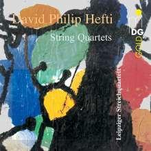 David Philip Hefti (geb. 1975): Streichquartette, CD