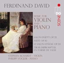 Ferdinand David (1810-1873): Werke für Violine & Klavier, SACD