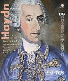 Joseph Haydn (1732-1809): Joseph Haydn - Portrait, Blu-ray Audio