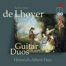 Antoine de Lhoyer (1768-1840): Duos concertantes für 2 Gitarren op.31 Nr.1-3, CD