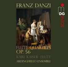 Franz Danzi (1763-1826): Flötenquartette op.56 Nr.1-3, CD