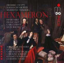 Hexameron - Variations de Bravoure sur la Marche des Puritains de Vincenzo Bellini, Super Audio CD