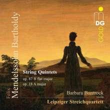 Felix Mendelssohn Bartholdy (1809-1847): Streichquintette Nr.1 & 2, CD