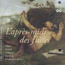Die 14 Berliner Flötisten - L'apres-midi des flutes, CD