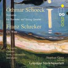 Othmar Schoeck (1886-1957): Notturno für Stimme & Streichquartett op.47, CD