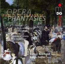 Pablo de Sarasate (1844-1908): Opern-Fantasien für Violine & Klavier, SACD
