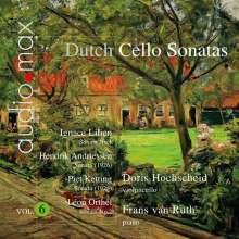Doris Hochscheid - Dutch Sonatas für Cello & Klavier Vol.6, Super Audio CD