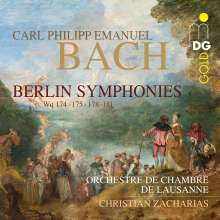 "Carl Philipp Emanuel Bach (1714-1788): Symphonien Wq.174,175,178,179,181 - ""Berlin Symphonies"", Super Audio CD"