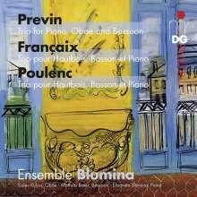 Andre Previn (1929-2019): Trio für Klavier, Oboe & Fagott, Super Audio CD