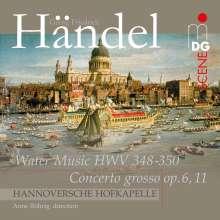 Georg Friedrich Händel (1685-1759): Wassermusik, Super Audio CD