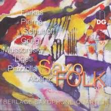 Berlage Saxophone Quartet - SaxoFOLK, SACD