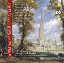 Ben van Oosten - A Festival of English Organ Music, CD