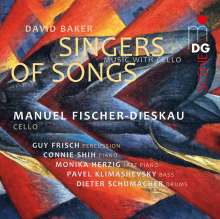 David Nathaniel Baker (1931-2016): Singers of Songs / Weavers of Dreams für Cello & Percussion, SACD