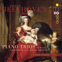 Ludwig van Beethoven (1770-1827): Klaviertrios Nr.5 & 6, SACD