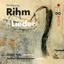 Wolfgang Rihm (geb. 1952): Lieder für Bariton & Klavier, CD