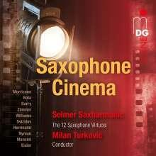 Selmer Saxharmonic - Saxophone Cinema, CD