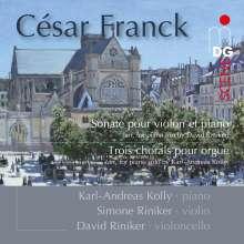 Cesar Franck (1822-1890): Sonate für Violine & Klavier A-Dur (arr. für Klaviertrio), SACD