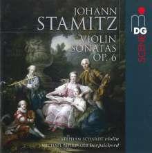 Johann Stamitz (1717-1757): Violinsonaten op.6 Nr.1-6, SACD