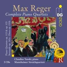 Max Reger (1873-1916): Sämtliche Klavierquartette, 2 CDs